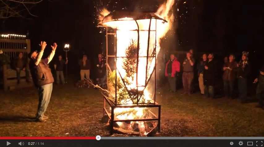 Click here to view the King's Whiskey bonfire.
