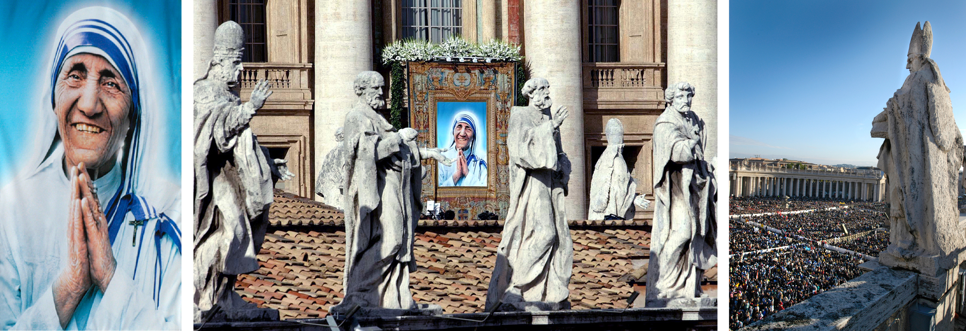 Marie's photo at Mother Teresa's Beatification